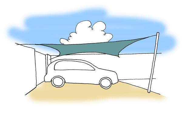 sun sail carport