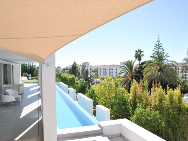 Instalación de sistemas de sombra en Marbella